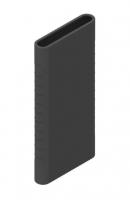 Защитный кейс для  Xiaomi Power Bank 5000 mAh ( Силикон / Черный)