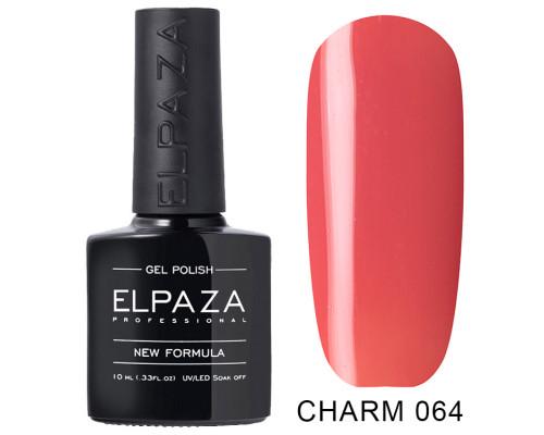 ELPAZA ГЕЛЬ-ЛАК  Charm 064  Табаско (Персиково-розовый)  10 мл