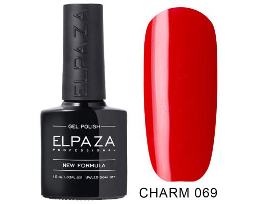 ELPAZA ГЕЛЬ-ЛАК  Charm 069  Декольте (Красный)  10 мл