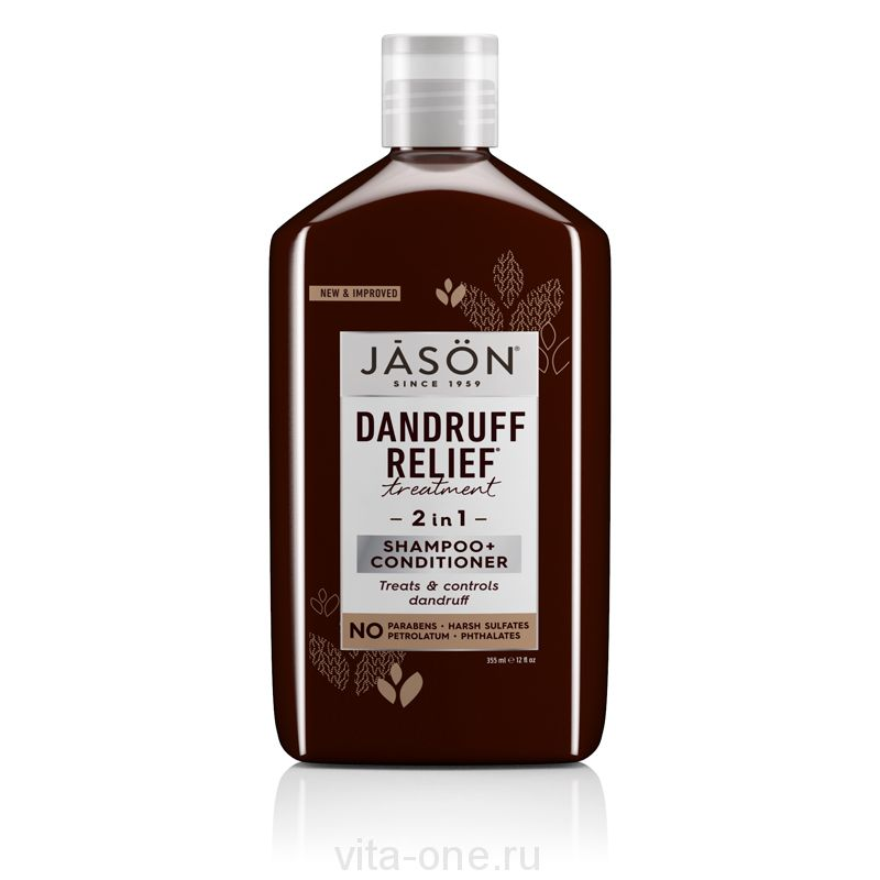 Шампунь с кондиционером от перхоти (Dandruff Relief™ Shampoo+Conditioner) Jason (Джейсон) 355 мл