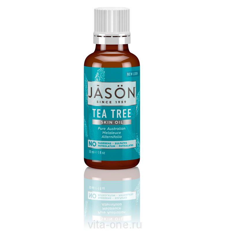 Масло Чайного Дерева 100% (Tea Tree Oil) Jason (Джейсон) 30 мл