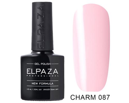 ELPAZA ГЕЛЬ-ЛАК  Charm 087  Свидание (Светло-розовый) 10 мл