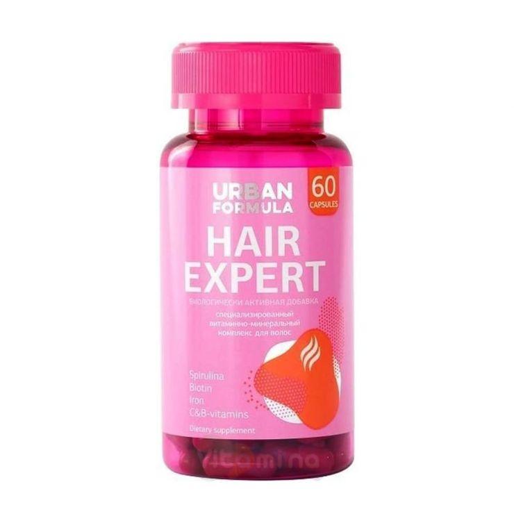 "Урбан Формула Комплекс для красоты волос ""Ферулина"" Hair Expert, 60 капс."