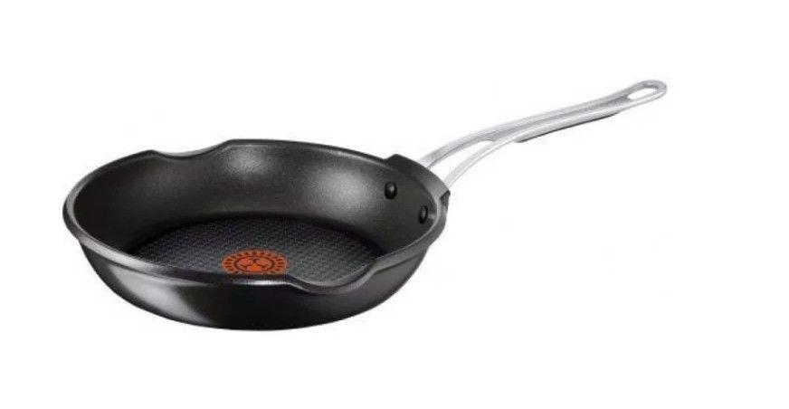 Сковорода Tefal Jamie Oliver E2110273, 20 см, черный