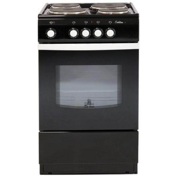 Электрическая плита De Luxe 5004.12Э Black