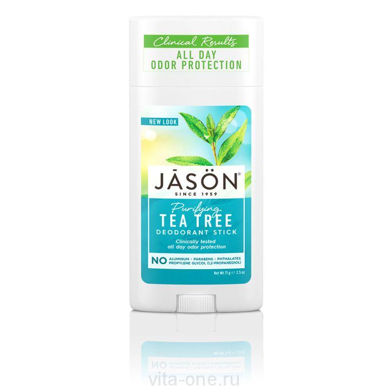 Твердый дезодорант Чайное Дерево (Tea Tree Oil Stick Deodorant) Jason (Джейсон) 71 г