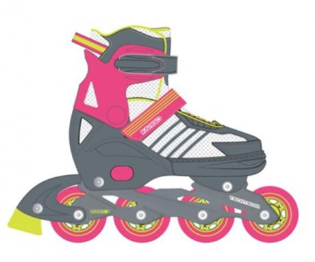 Роликовые коньки Kargo new розовый L (39-42)