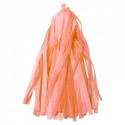 Гирлянда Тассел, персик, 3м, 12 листов