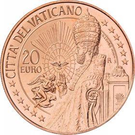 Святой Пётр 20 Евро Ватикан 2020 на заказ