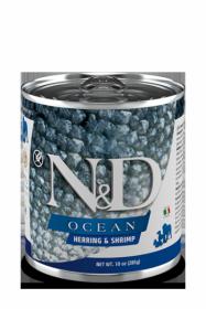 N&D DOG OCEAN HERRING&SHRIMP (Сельдь с креветками для собак) 285г.