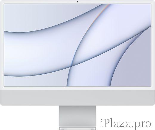 """Apple iMac 24"""" Retina 4,5K, M1 (8C CPU, 8C GPU), 8 ГБ, 256 ГБ SSD, серебристый, MGPC3RU/A"""