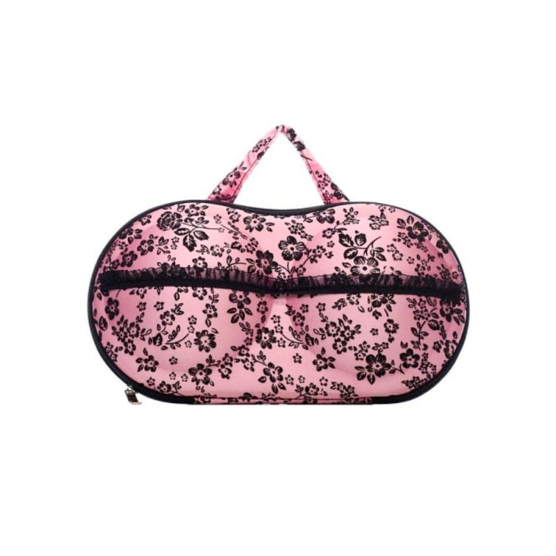 Чехол для переноски бюстов - Бюсто, Розовый в цветочек