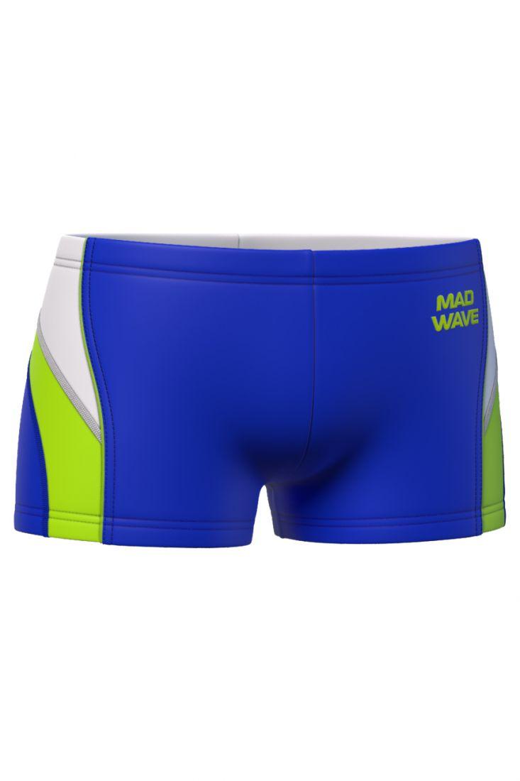 Плавки-шорты юниорские антихлор Mad Wave SPIRIT Junior темно-синие