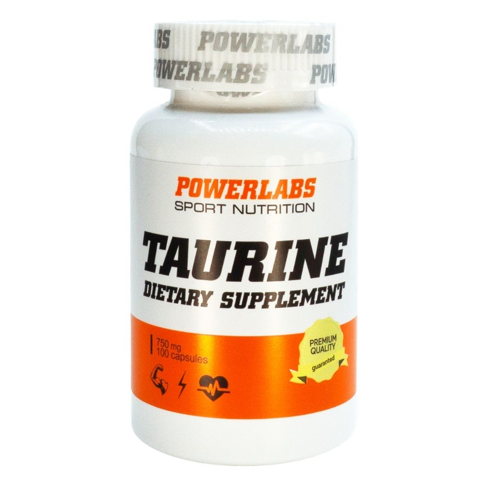 PowerLabs Taurine 100 caps