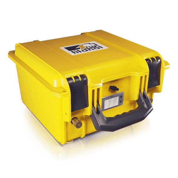 Аккумулятор LiFePO4 12V 52Ah защищённый (прикуриватель+кулометр)