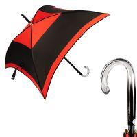 Зонт-трость Guy De Jean Kyoto Noir/ Red