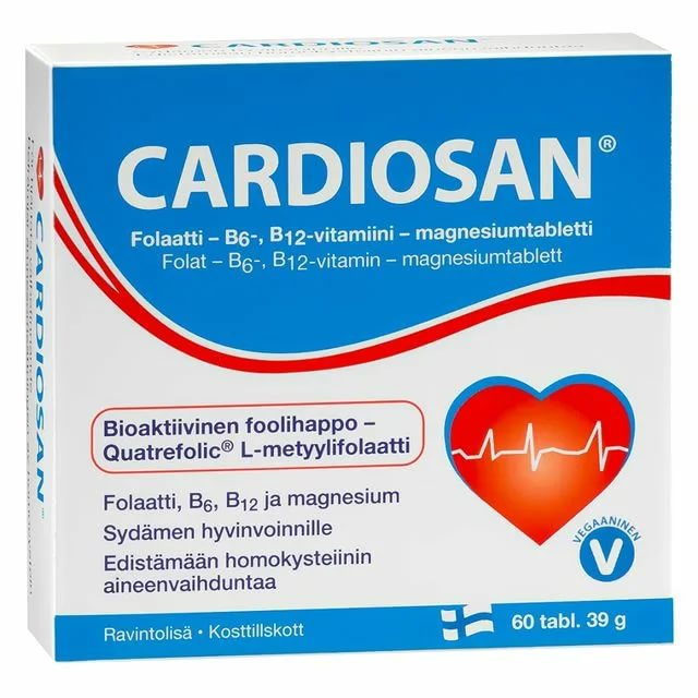 Cardiosan (для сердца) 60таб