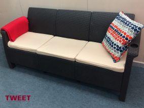 Трехместный диван TWEET Sofa 3 Seat (Россия)