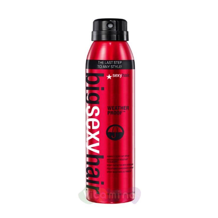 SEXY HAIR Спрей водоотталкивающий BIG WEATHER PROOF HUMIDITY RESISTANT SPRAY, 125мл