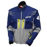 UFO Taiga Enduro Jacket Blue куртка для мотокросса и эндуро, серо-синяя