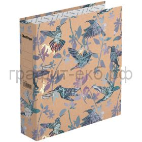 Файл А4 7см Berlingo Hummingbird крафт-бумага с рисунком ATk_70404