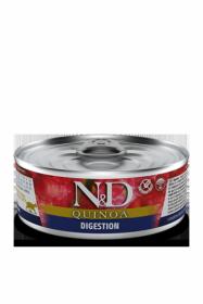N&D CAT QUINOA DIGESTION (Киноа Помощь пищеварению для кошек) 80г.