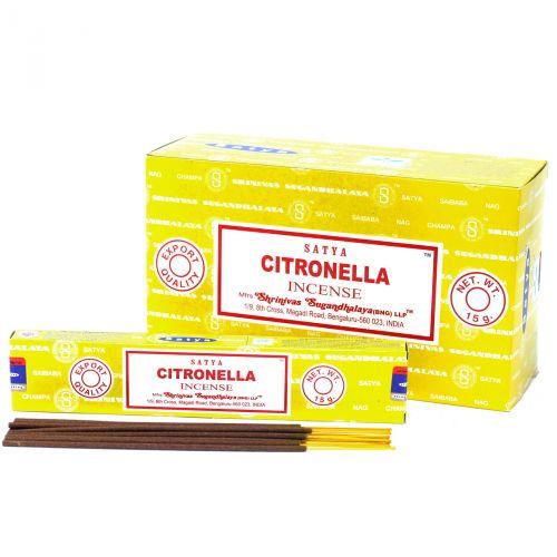 Благовония Citronella | Цитронелла | 15 г | Satya