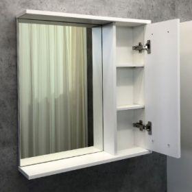 Зеркало-шкаф Comforty Модена М-60 белый матовый