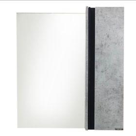 Зеркало-шкаф Comforty Эдинбург-75 бетон светлый