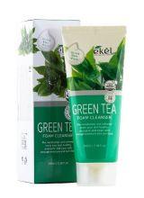 EKEL Пенка для умывания Зеленый чай, 100 мл