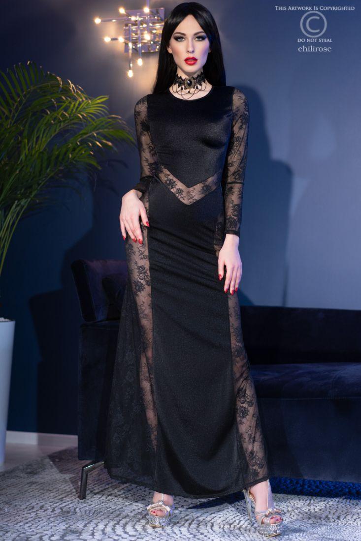 4408 Платье   стринги