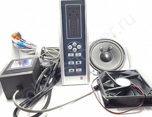 Пульт управления SP-009 комплект (блок питания, динамик, вентилятор)