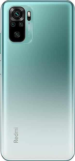Смартфон Xiaomi Redmi Note 10 4/64GB, лазурное озеро