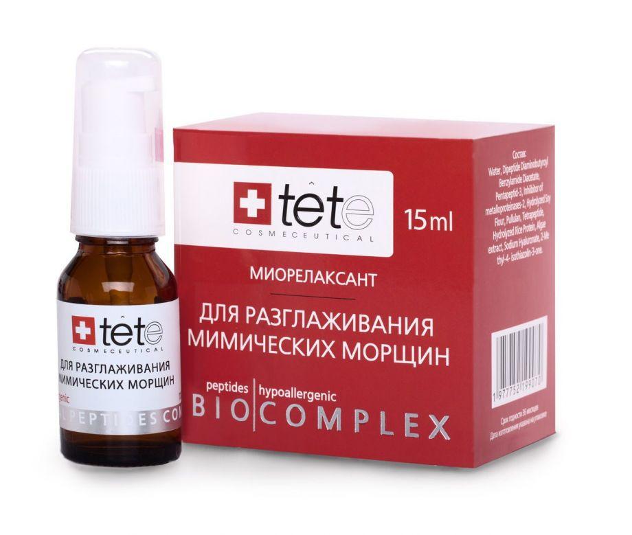 Биокомплекс - миорелаксант для разглаживания мимических морщин Tete cosmeceutical (Тете косметик) 15 мл