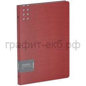 Папка 40 конвертов Berlingo Steel&Style красная PPf_96003