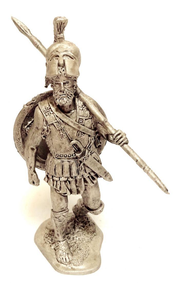 Фигурка Греческий гоплит 5 в. до н.э. олово