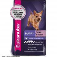 Eukanuba Puppy Small Breed Корм для щенков мелких пород (10 кг)