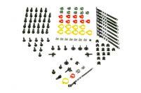 RK01176 * Ремкомплект пластмассовых изделий на кузов для а/м 2121, 21213, 1111
