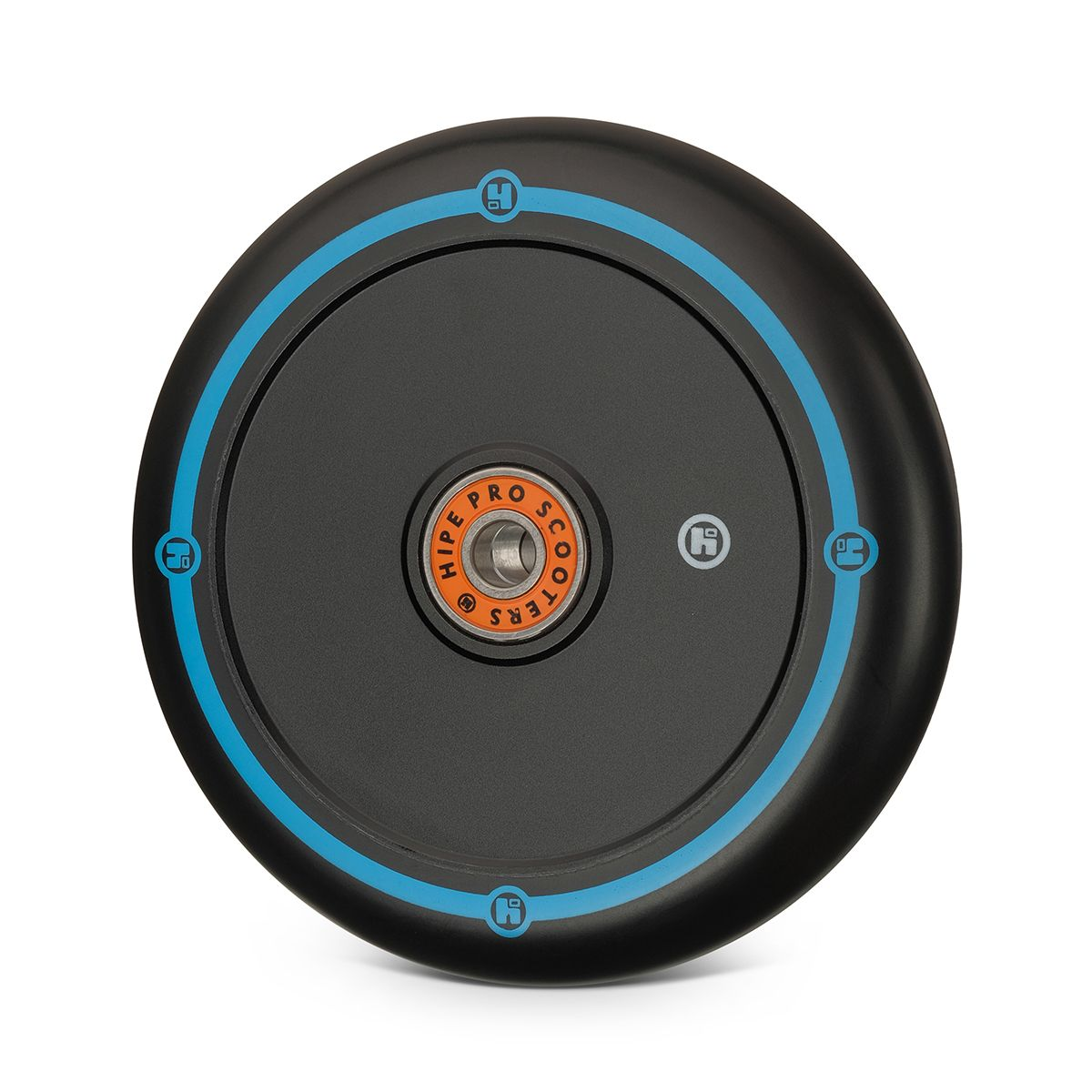 Колесо Hipe Flat Solid logo 110мм черный/черный-синий