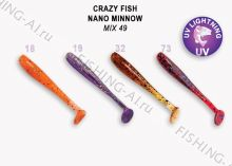 Crazy Fish Nano minnow 1.6 (MIX 49)
