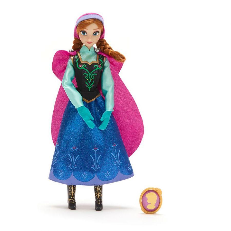 Кукла Анна Холодное сердце Дисней с кулоном