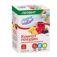 Леовит Нутрио Компот Похудин для диетического питания 18гр, 5шт