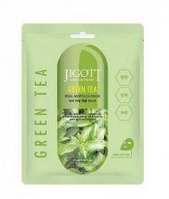 JIGOTT Ампульная маска с зеленым чаем, 27 мл