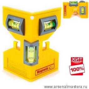 Плотницкий магнитный уровень Swanson Magnetic Post Level PL001M ХИТ !