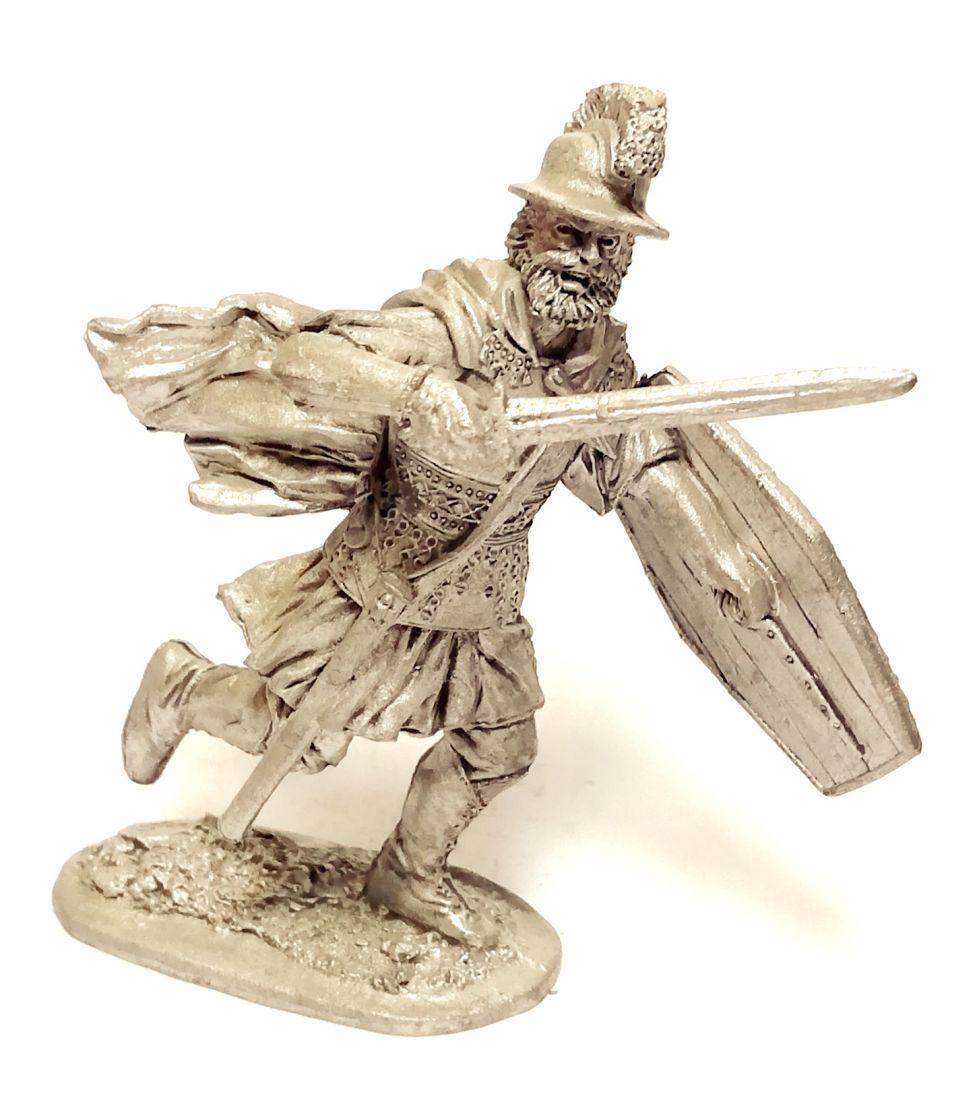Фигурка Кельтский воин 5в. до н.э.. олово