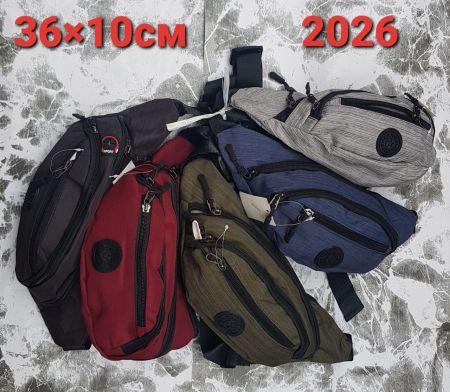 2026 сумка поясная