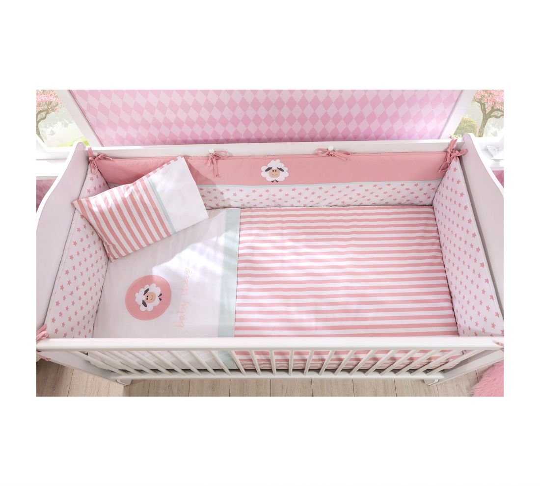 Lovely Baby Комплект постельных принадлежностей для девочки (75х115 cm)