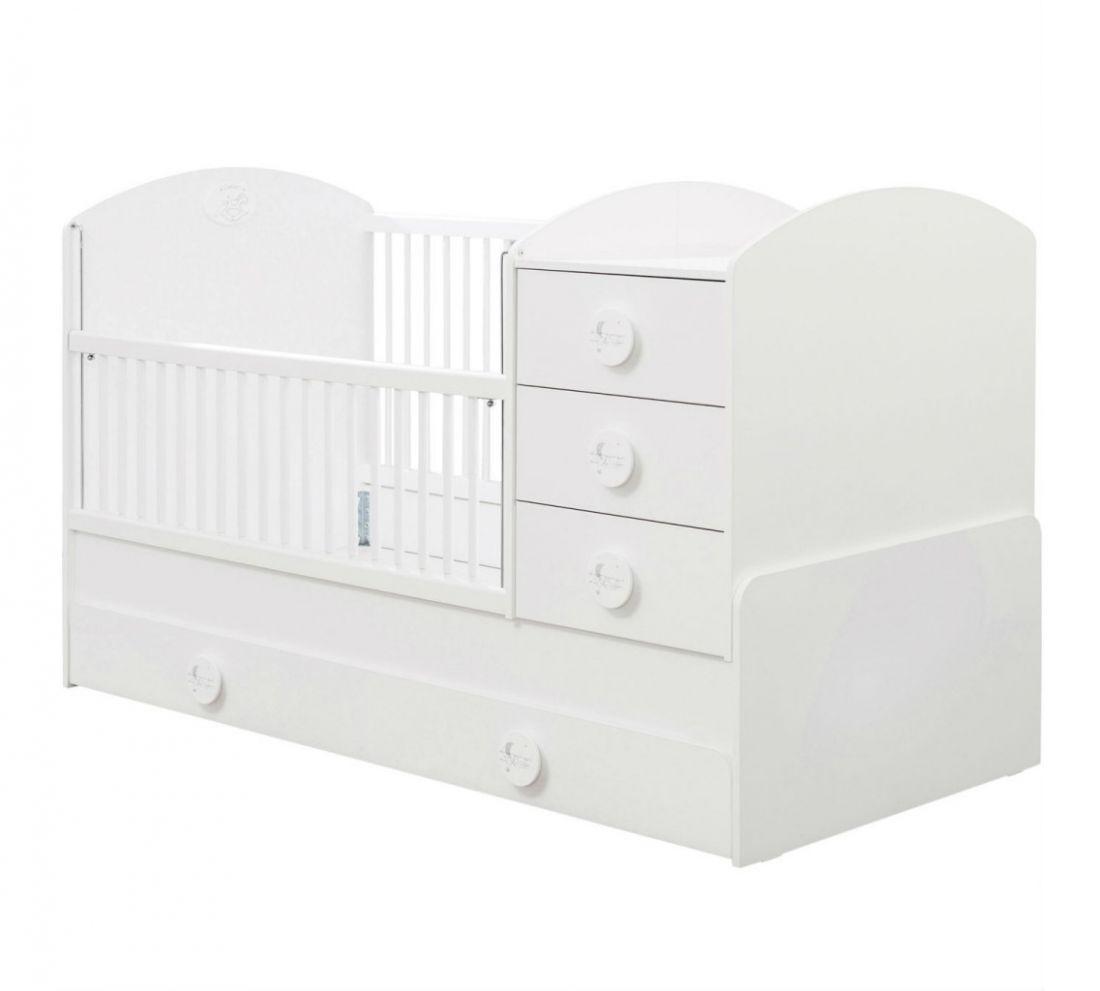 Baby Cotton SL Кровать-трансформер, сп. м. 80х131/80х177