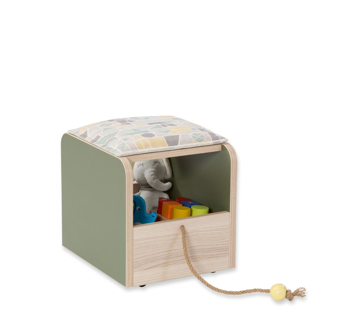 Montessori (Montes) Пуф-ящик для игрушек new
