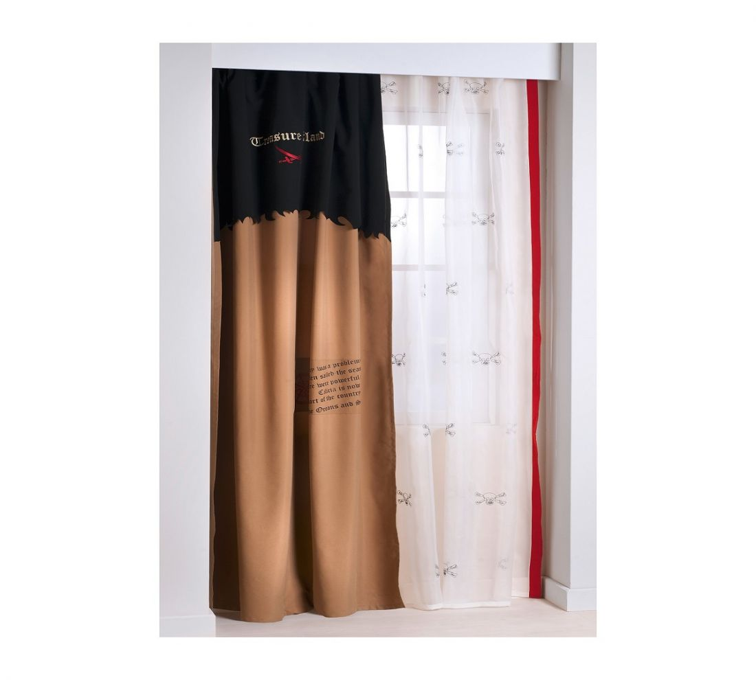 Тюль Pirate (140x260 см, 1 шт. в комплекте)